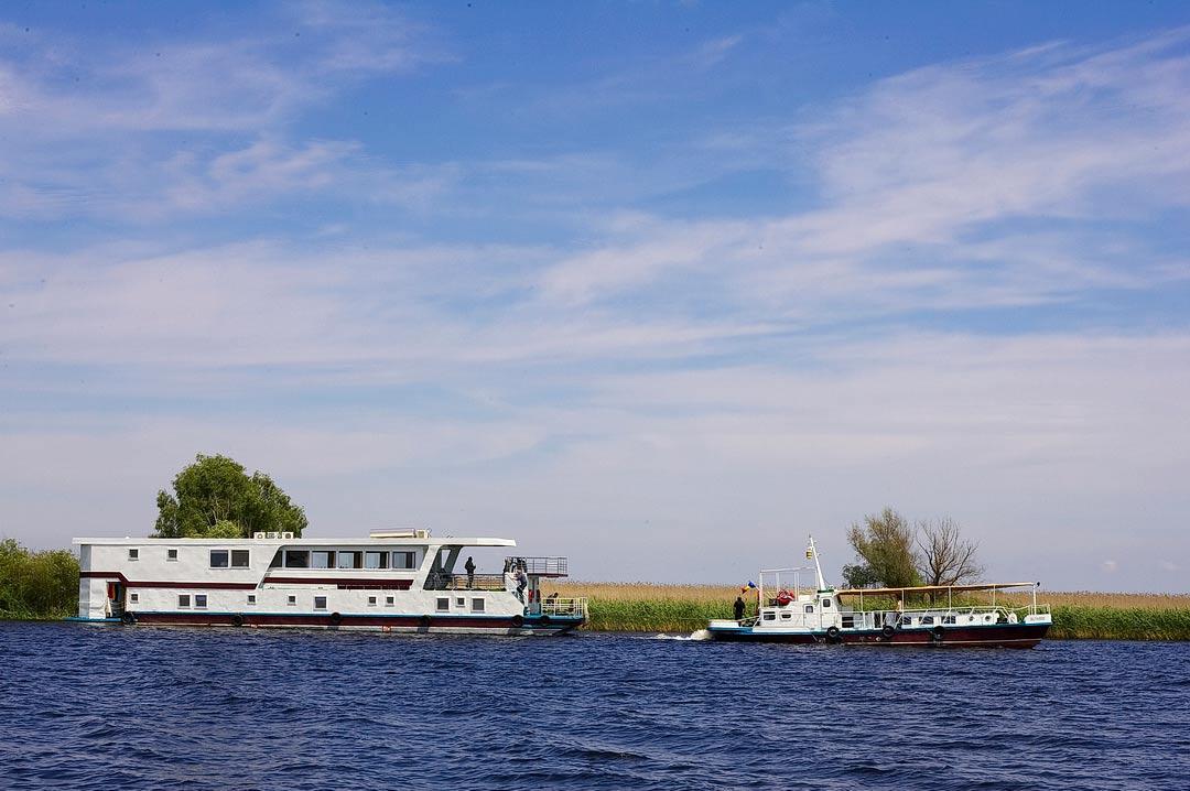 Croaziera de 3 zile in Delta Dunarii cu hotelul plutitor