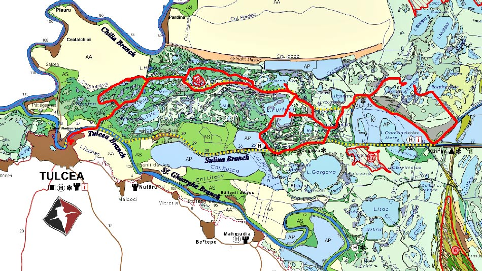 Traseu sejur Delta Dunarii - 3 zile cu cazare la Maliuc