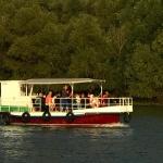 Barci de Excursii lente in Delta Dunarii vedere laterala