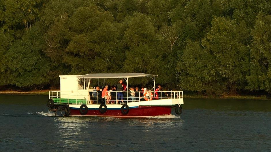 Inchiriere barci - salupe in Delta Dunarii